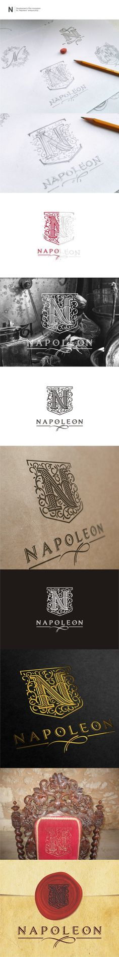 """Napoleon"" antique shop. on Behance"
