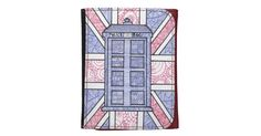 This image is an original doodle illustration, drawn by me, of a British police box! I've always been a big Anglophile and love all sorts of UK inspired imagery! First, I drew an outline of the police box, plus the outline of the Union Jack flag as a background. After that, I went over the outline with marker. Then, using felt-tip pens, I sketched and doodled all of these lines. The colors I used are black, cobalt blue and red - perfect colors for a little travel through time and space…