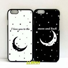 I Love You to the Moon and Back Couples Matching for iphone 6/6s case Details Welcome * This is a beautiful set of 2 Phone cases for Couples. Could be given as an amazing gift for best friend/lover