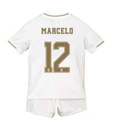 Real Madrid Marcelo #12 Primera Equipación Niños 2019/20 Manga Corta (+ Pantalones cortos) Equipacion Real Madrid, Sports, Tops, Short Shorts, Full Sleeves, Soccer Shirts, Hs Sports, Sport