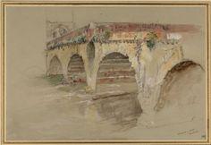 Ruskin, John - The Ponte della Pietra, Verona