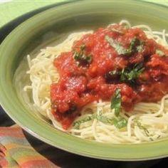Seven Ingredient Tomato Sauce - Allrecipes.com