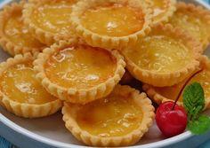 Tart Recipes, Sweet Recipes, Snack Recipes, Dessert Recipes, Snacks, Mini Desserts, Delicious Desserts, Resep Cake, Egg Tart
