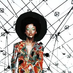 Art. Collage Works by Massogona Sylla. | SUPERSELECTED - Black ...