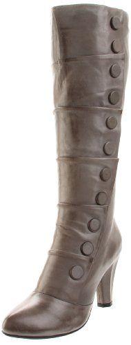 Amazon.com: Miz Mooz Women's Gigi Knee-High Boot,Grey,10 M US: Shoes
