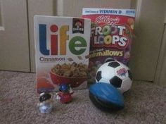 Making good choices object lesson for children's church. Props Needed: Two different kinds of breakfast cereal, soccer ball, football, and a baggie with two different Fisher Price Little People inside. Bible Object Lessons, Fhe Lessons, Bible Lessons For Kids, Bible For Kids, Youth Lessons, Church Activities, Bible Activities, Toddler Activities, Sunday School Lessons