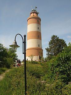 Isokari lighthouse. Uusikaupunki, Finland