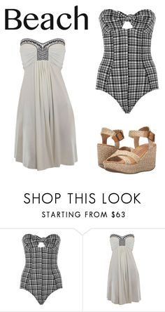 """Untitled #706"" by hey5ever ❤ liked on Polyvore featuring Lisa Marie Fernandez, Blowfish and coverups"