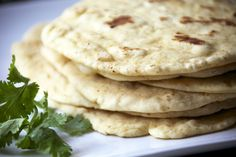 These tasty homemade chili pepper flour tortillas are made quickly and easily in a CuisinArt food processor, then served hot and fresh from the skillet.