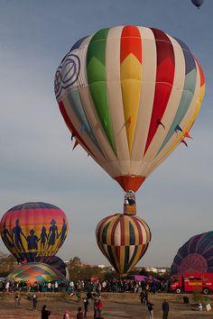 Festival de globos aerostáticos  Mexico