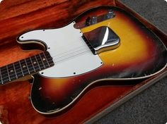 100% Original 1963 Custom Esquire, nice brown rosewood, perfectly straight neck, 60´s medium C-shape, neck date June 63, original frets, light weight 3.2kg only, alder body dated 8-63, pot