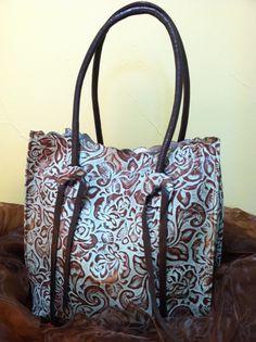 JUAN ANTONIO-Roscal Turquoise Handbag