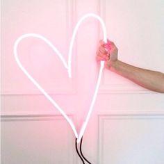 WANTS.  RG @thestylelightco #neon #love #hearts #neonlights #neonheart
