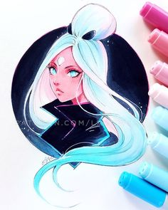 """37k Likes, 105 Comments - Asia Ladowska (@ladowska) on Instagram: """"Fanart of @rossdraws Nima He just announced his Kickstarter campaign! (it's not like he needs any…"""""""