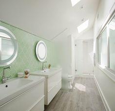 Master Bath Custom Wall Unit Tile Floor And Tile Chair Rail - Bathroom remodeling savannah ga