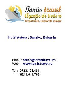 Hotel Astera Bansko bulgaria  Hotel Astera Bansko 4* din Bansko este situat la poalele muntilor Pirin, la numai 200 m de Gondola. Bansko Bulgaria