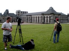 Great place for filming! Ohio Reformatory
