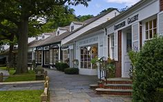 """Stony Brook Village, Long Island, NY Stony Brook doesn't have a village in the true sense of the word. This is just a little shopping center that calls itself """"Stony Brook Village"""" Trip The Light Fantastic, Long Island Ny, Fire Island, Stony Brook, Island Pictures, London Bridge, Island Girl, Going Home, Rue"""