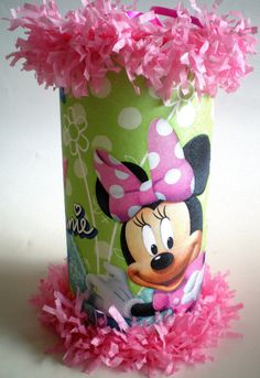 Mickey or Minnie Mouse Mini Pinatas Party Favor by ItsaPartyFavor, $2.00