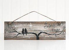 Reclaimed Wood Christmas Sign Original от LindaFehlenGallery