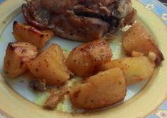Γαλοπούλα στο φούρνο με χυμό πορτοκαλιού και μουστάρδα συνταγή από panivos - Cookpad Potatoes, Vegetables, Food, Potato, Essen, Vegetable Recipes, Meals, Yemek, Veggies