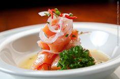 Nakombi - Vl. Olímpia (jantar)    Ceviche Week  Ceviche de salmão  levemente adocicado