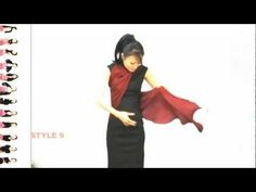 "BODITECTURE MULTI-WAY WEARING SCARF ""HUG"" - YouTube"
