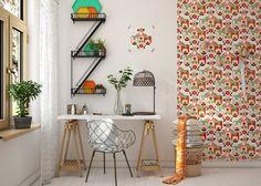 Decoration Idea: Children's bedrooms by Fajno Design Nursery Decor, Bedroom Decor, Wall Decor, Elephant Wallpaper, Decoration Inspiration, Decor Ideas, Kids Decor, Home Decor, Wall Colors