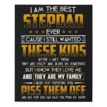 Stepdad Faux Canvas Print  homemade fathers day gifts, step dad fathers day gifts, not a fathers day #bosslady #womenempowerment #womenentrepreneurs 1st Fathers Day Gifts, Homemade Fathers Day Gifts, Father Presents, Fathers Day Quotes, Fathers Day Crafts, Beer Gifts, Grandpa Gifts, Gifts For Dad, Dad Valentine