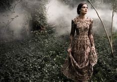 The Sleeping Garden: Paolo Sebastian's Autumn/Winter 2015 Collection