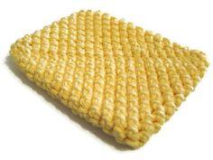 Cotton pot scrubbers replace dirty sponges.  $3.00, via Etsy.