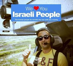 We Love You  help us prevent war between Israel and Iran. Spread the word and share your love.