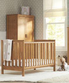 Mothercare Jamestown Cot Bed - Antique Pine