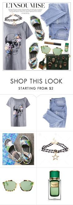 """""""My style"""" by teoecar ❤ liked on Polyvore featuring Essie, Christian Dior and Dolce&Gabbana"""