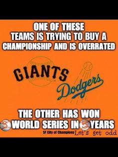 SF Giants Beat LA