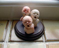the Forgotten children - Series 2 display - Cunni Outsider Art