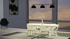 Ambit Rail Ceiling Light at Meinkatz Creations • Sims 4 Updates