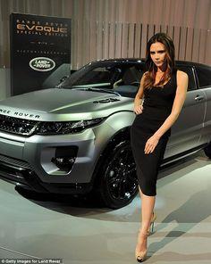 #Victoria #Beckham Edition Range Rover Evoque