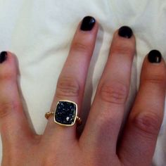 Druzy Rings Minimalist