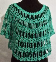 As Receitas de Crochê: Mini blusa em crochê