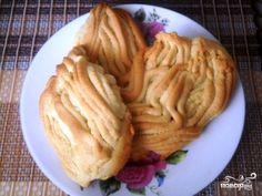Печенье через мясорубку со сметаной
