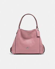 Coach Edie Shoulder Bag 31 in Tea Rose  Colorful handbags for fall! Fall  Handbags 919756b5d37fd