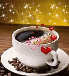 With Tenor, maker of GIF Keyboard, add popular Coffee animated GIFs to your conversations. Share the best GIFs now >>> Good Morning Breakfast, Good Morning Coffee, Good Morning Good Night, Good Morning Wishes, Good Morning Quotes, Coffee Gif, Coffee Images, Coffee Heart, Coffee Love