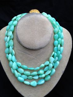 four strand peruvian opal necklace