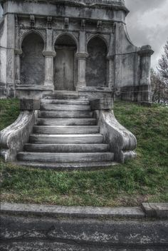 Cave Hill Cemetery Louisville Kentucky in HDR