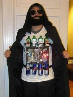Jager Bomber | 22 Punniest Literal Halloween Costumes