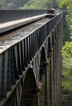 Pontcysyllte Aqueduct, Wales
