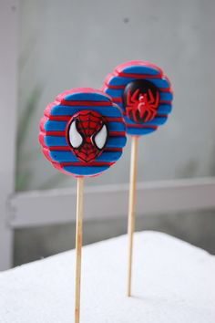 Spiderman Chocolate Oreo Pops! | Check out our newest produc… | Flickr