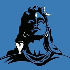 The Hindu god Shiva. Mahakal Shiva, Shiva Art, Hindu Art, Lord Shiva Hd Wallpaper, Lord Shiva Painting, Ganesha Painting, Orisha, Whatsapp Dp, Lord Shiva Sketch