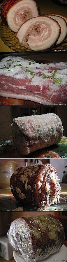 Домашний закусочный деликатес ..